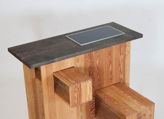 mobile Küche - Vollholzz